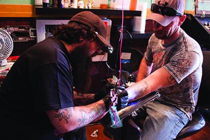 Ellensburg's only tattoo artist talks tats