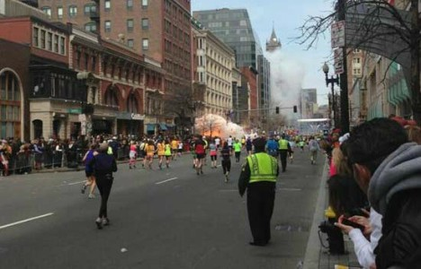 Boston Marathon marred by explosions