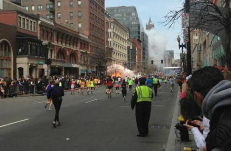 Boston Marathon marred by explosions