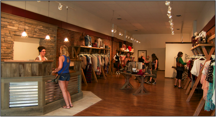 Women clothing stores. Opening a clothing store