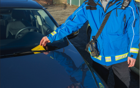 Nearly $1 million accumulated from parking tickets last school year