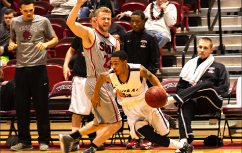 Central's men's basketball hits road in GNAC