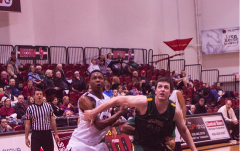 Central men's basketball's Stroud racks up the shot-blocks
