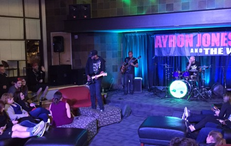 Ayron Jones and The Way performed live in Central's Student Union building