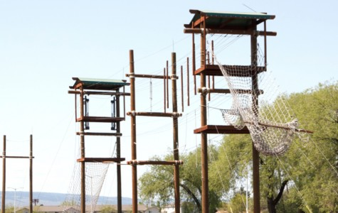 Central Challenge Course now open for enjoyment, wind not included