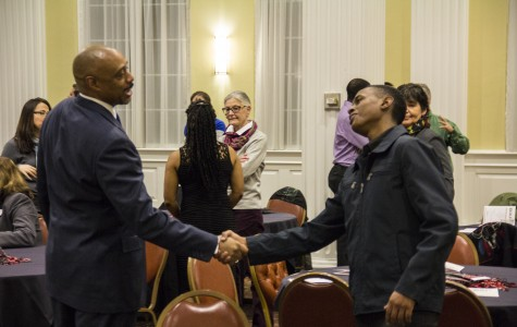 BSU, faculty meet and greet helps students network