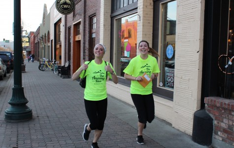 Amazing Race runs into town