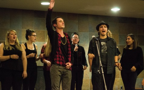 Voices sing out at Open Mic Night