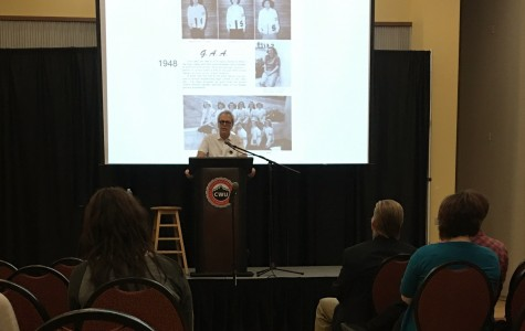 Michael Messner delivers speech on women in sports