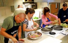 Students learn healthy habits in the kitchen with Dine and Tote