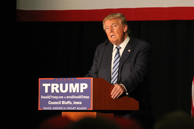 Presidential+candidate+Donald+Trump+speaks+at+a+campaign+stop+at+the+Mid-America+Center+in+Council+Bluffs%2C+Iowa.
