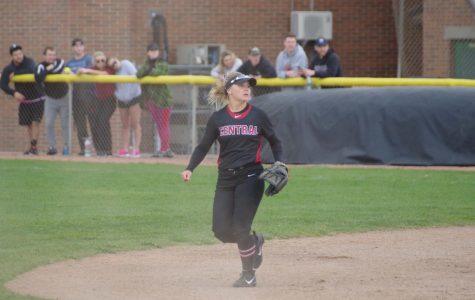 Celine Fowler commands center field