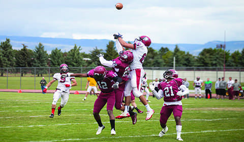 Defending GNAC champs' spring game ends on a tie