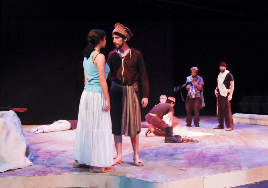 Scene: Central's theatre department performance of culturally-relevant