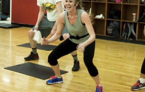 Scene: Sharee Samuels gives workout insight and tips