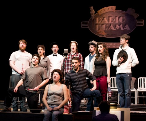 Scene: Central Theatre Ensemble will perform radio plays Feb. 13-15 in McConnell Auditorium