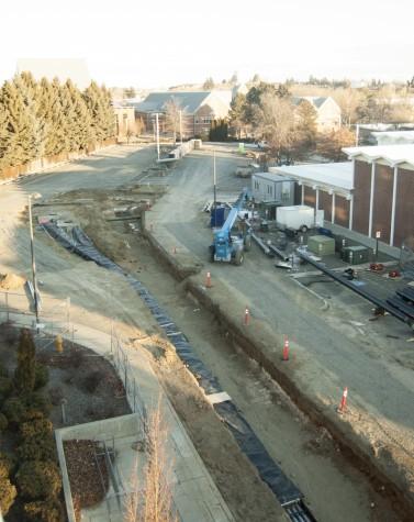News: Construction underway on campus