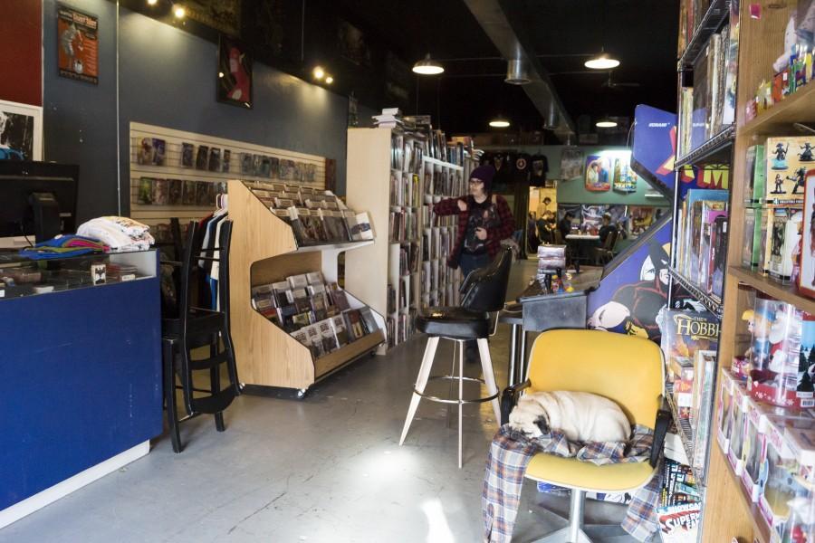 Scene: Central City Comics is no small town shop