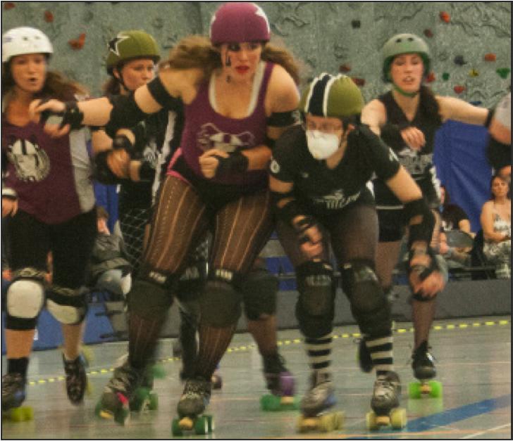 Rollergirls smash Derby Dames 206-85