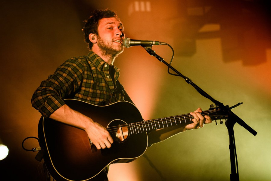 Phillip Phillips performed in the SURC Ballroom on Saturday to close out Centrals Homecoming Week.