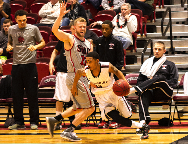 Central's men's basketball hits road in GNAC – The Observer