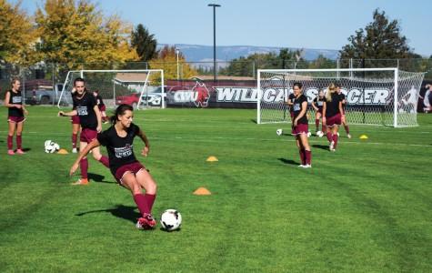 Soccer reaches goal off field