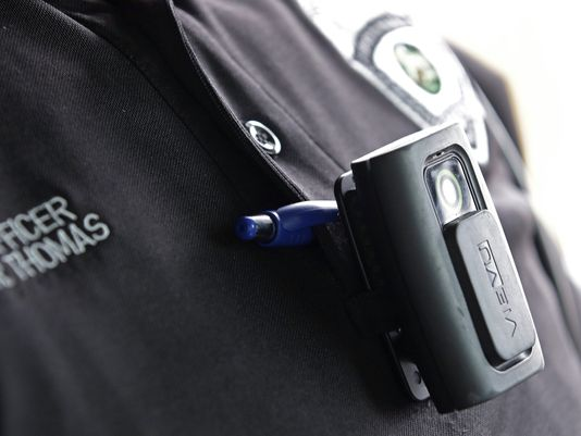 The Ellensburg Police Department could soon be wearing body cams like these.