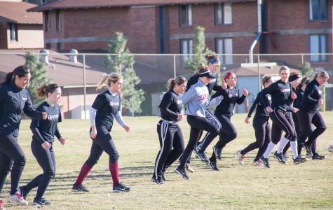 Softball chalks up record start
