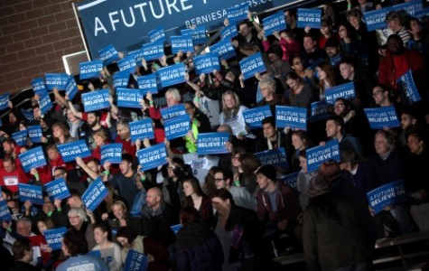 Ellensburg Bernie supporters come together, organize march