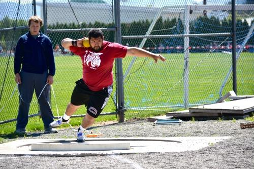Junior Armando Tafoya qualified for nationals in the hammer throw after finishing 19th in the country.