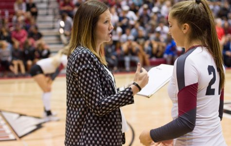 CWU Volleyball gets swept to sea by the Seawolves