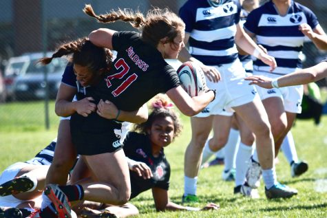 CWU's Manoa a force on rugby pitch