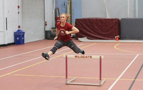 CWU competes in GNAC Indoor