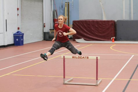 CWU competes in GNAC Indoor