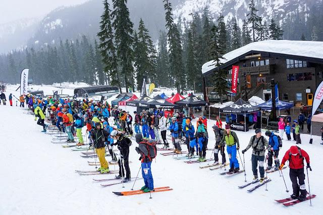 Skiers+getting+prepared+to+head+up+the+mountain+from+a+past+competition.+Now%2C+it+is+a+weekend+full+of+events+up+at+Snoqualmie.++++