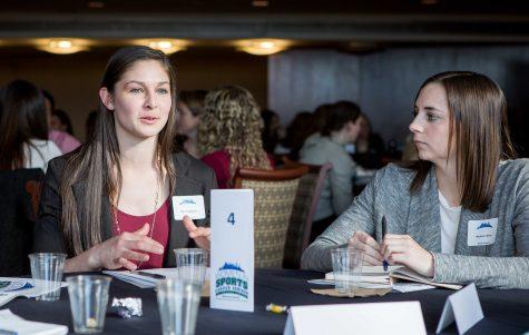 CWU women return from GNAC summit