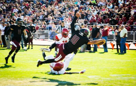 Friendly battle for the CWU QB position