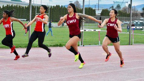 Sprinters break 4×100-meter record, again