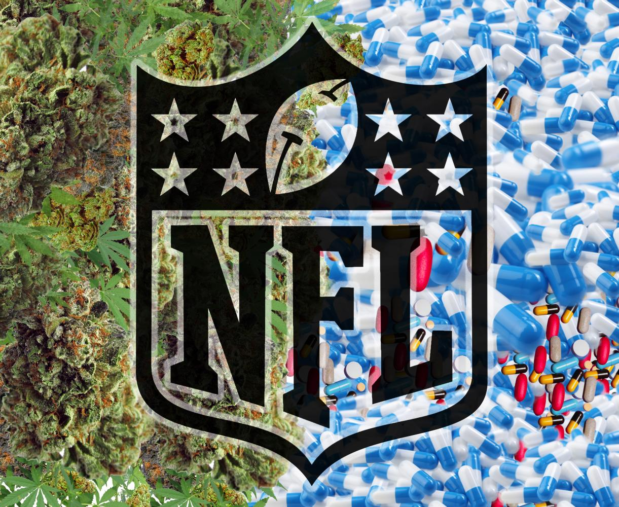 There has been conflict betweeen NFL Commissioner Roger Goodell and the NFL Player's Association about Marijuana use.