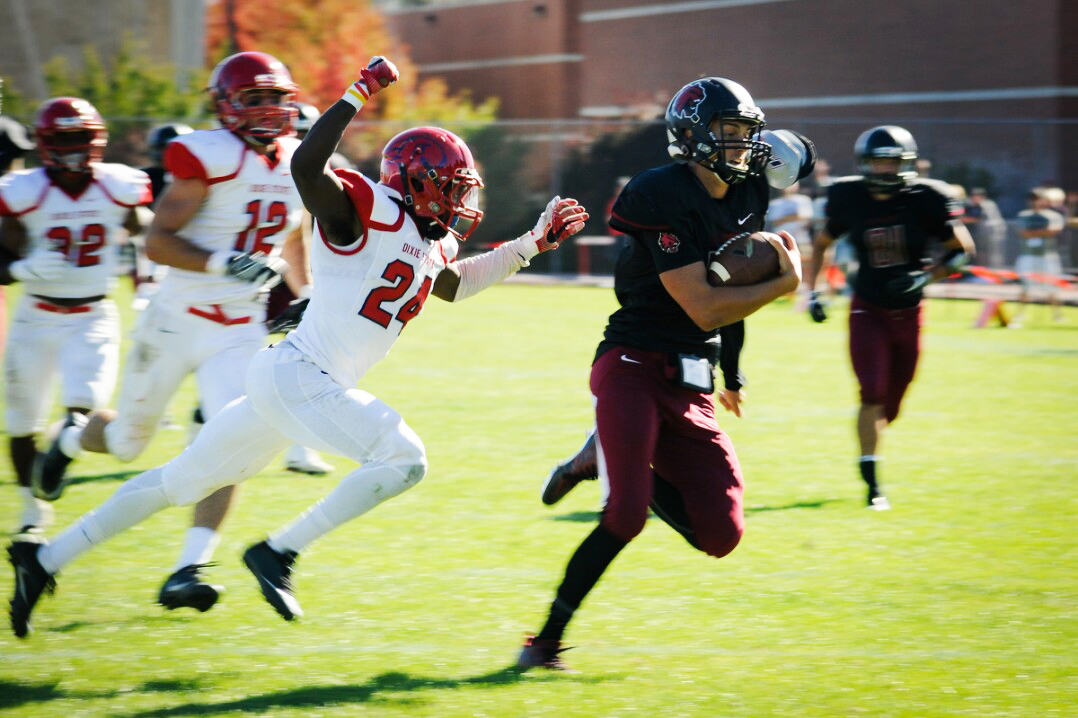 CWU+football+looks+to+improve+on+their+4-0+start+Sept.+30+against+Simon+Fraser.+SFU+currently+has+an+0-2+GNAC+record.+