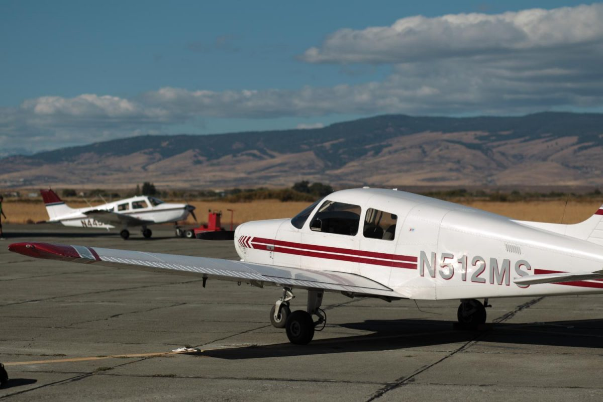 Two+of+the+seven+CWU+Aviation+planes+rest+on+the+tarmac+ready+for+students.+CWU%27s+Aviation+program+is+striking+out+on+its+own+to+seek+national+accreditation.