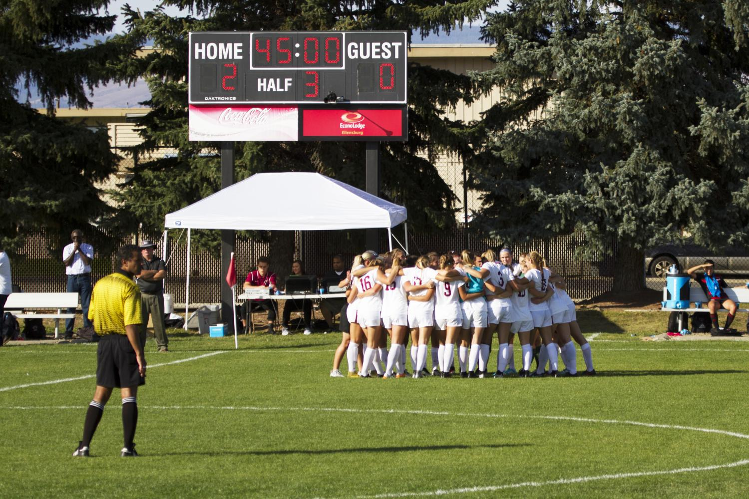 Women's soccer he's spent the past week preparing for Thursday's match against reigning national champions, WWU.