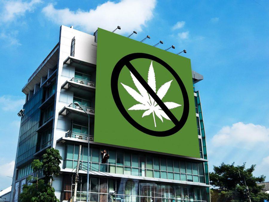 Marijuana ads leave the scene