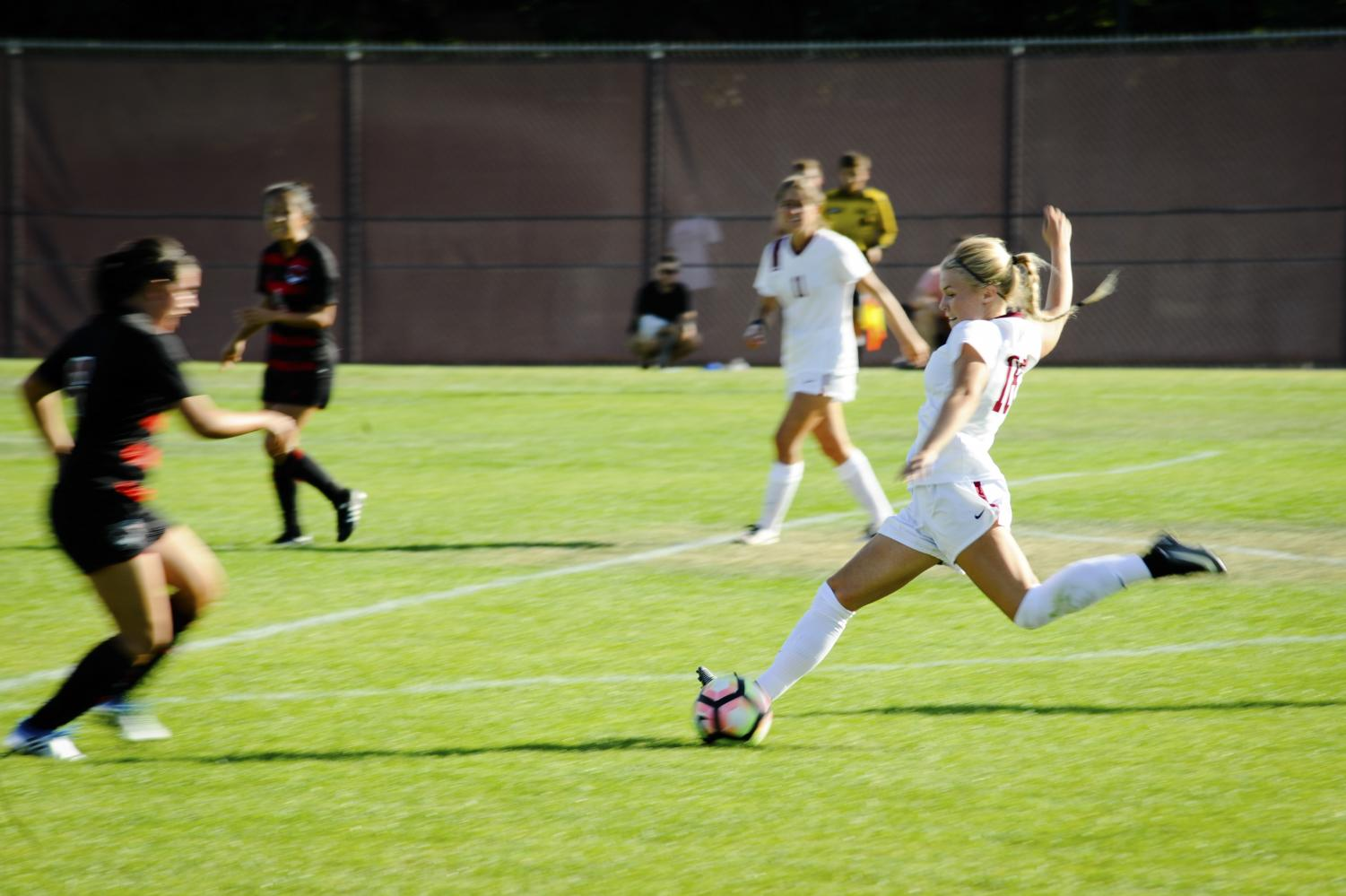 Wildcat Women's Soccer ended their season with a win against Montana State University Billings resulting in a 1-9-2 record.