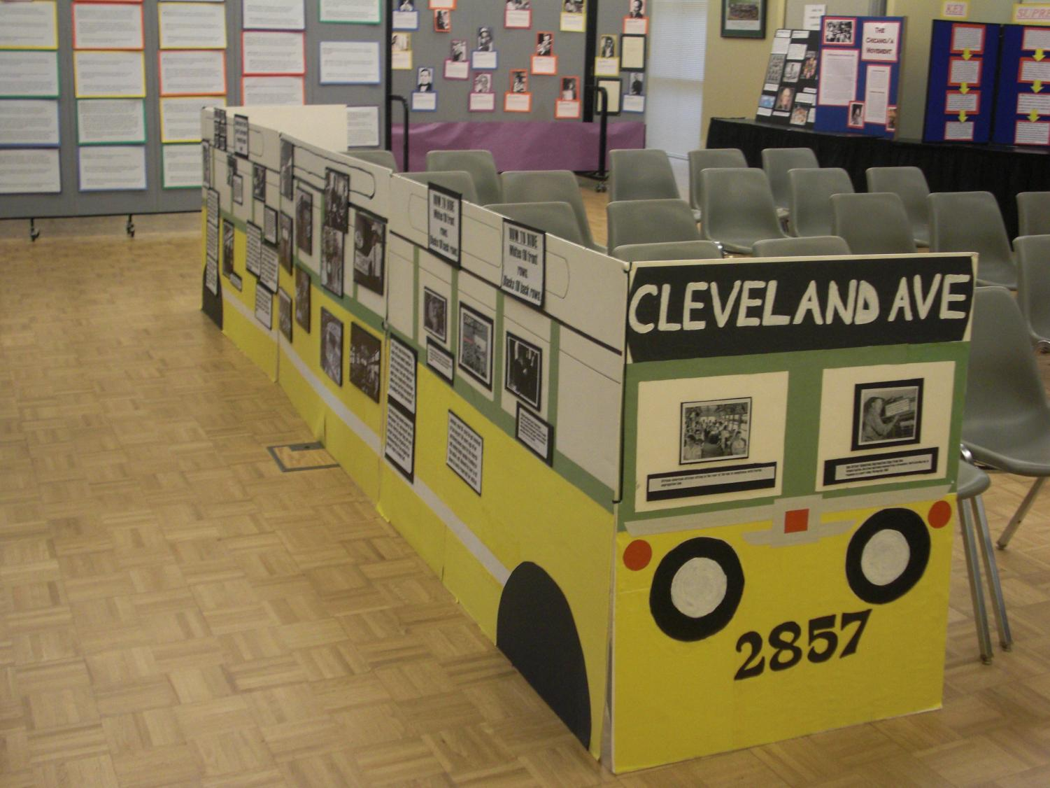 The educational exhibit will teach visitors about important figures like Martin Luther King Jr., Freedom Rides and segregation.