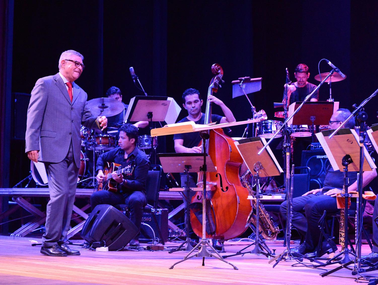 Rui Carvalho, Brazilian composer and arranger, will perform tonight alongside excited students in the CWU Jazz Band 1.