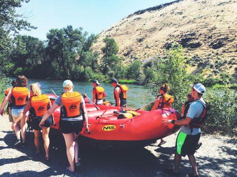 Floating the Yakima River in Ellensburg