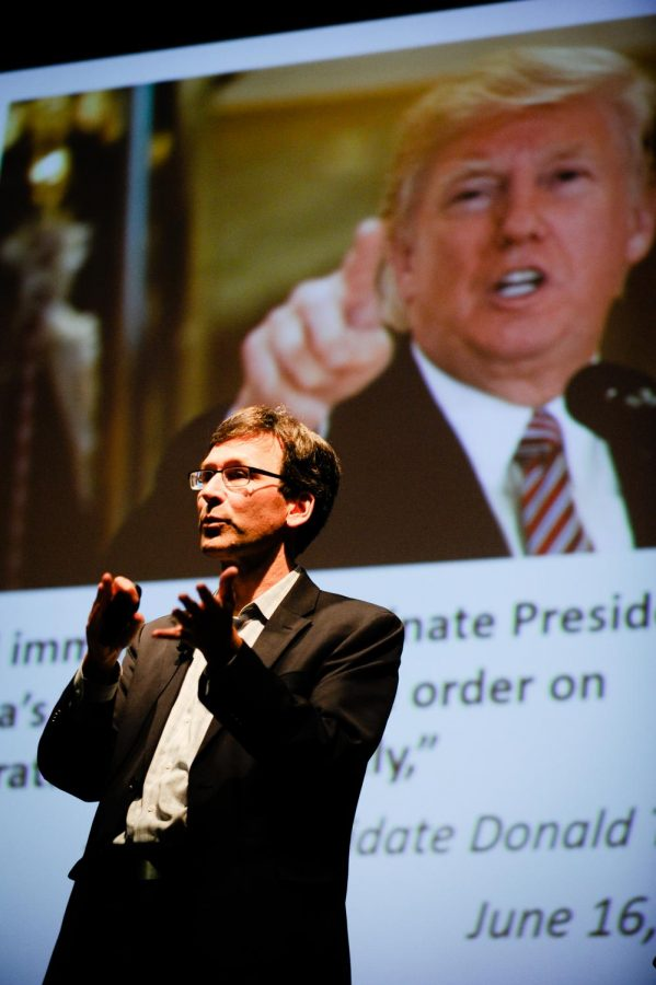Bob Ferguson discussed how he combatted Trump's travel ban.