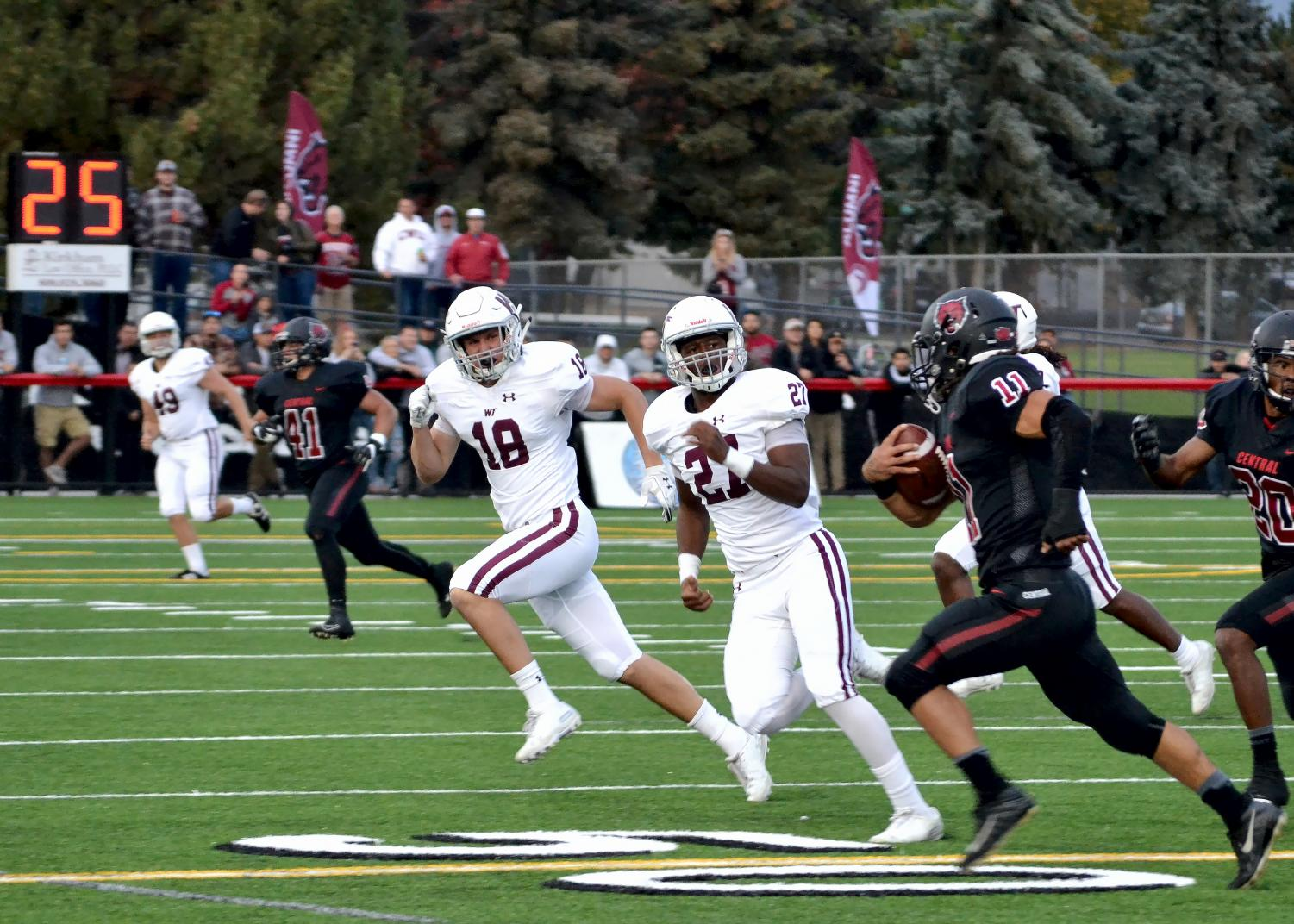 CWU welcomed West Texas A&M University for the grand reopening of Tomlinson Stadium. The Buffalos defeated the Wildcats 28-26, CWU's second loss of the season.