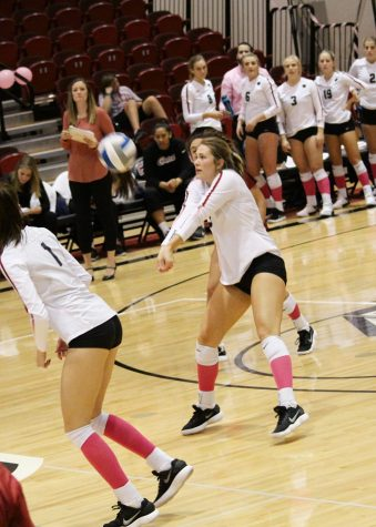Volleyball wraps up their season at home
